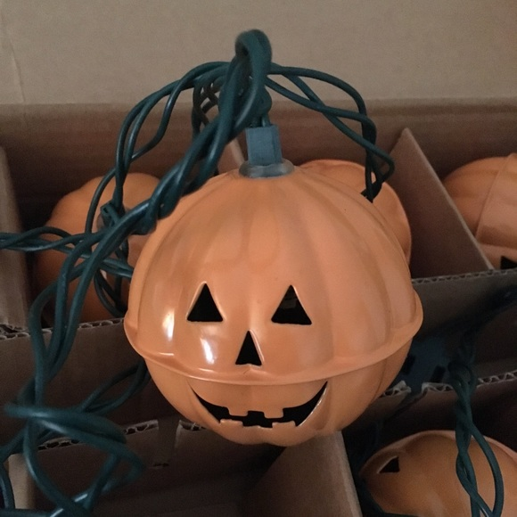 New Pottery Barn Pumpkin String Lights